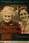 La locandina di Complaints of a Dutiful Daughter