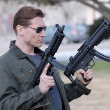 Aaron James Cash pronto all'azione in Sarah Connor Chronicles