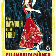 La locandina di Gli amori di Carmen