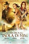 La locandina italiana di Alla ricerca dell'isola di Nim