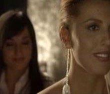 Veronica Mazza in una sequenza del film Ci sta un francese, un inglese e un napoletano