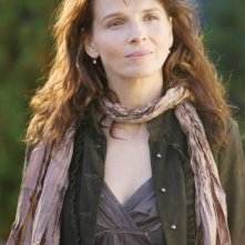 l'attrice francese Juliette Binoche in una scena della commedia L'amore secondo Dan