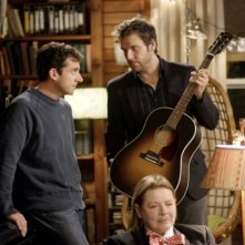 Steve Carell con Dane Cook e Dianne Wiest nel film L'amore secondo Dan