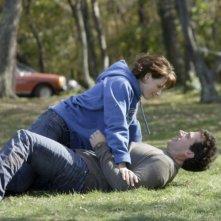 Steve Carell e Juliette Binoche nel film L'amore secondo Dan