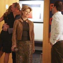 Jonny Lee Miller, Barbara Niven, Victor Garber e Natasha Henstridge nel Pilot di Eli Stone