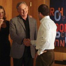 Jonny Lee Miller, Victor Garber e Natasha Henstridge nel Pilot di Eli Stone