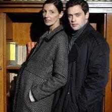 Massimo Poggio e Francesca D'Aloja in una scena del film All'amore assente