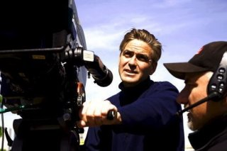 George Clooney sul set di IN AMORE, NIENTE REGOLE