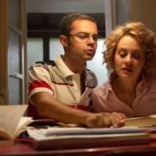 Una scena della commedia Amore, bugie e calcetto, di Luca Lucini