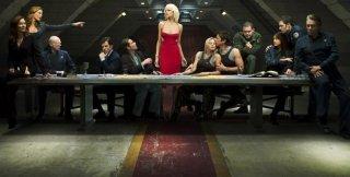 Una 'Ultima cena' per la promozione della quarta stagione di Battlestar Galactica