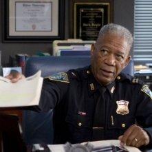 Morgan Freeman in una scena di Gone Baby Gone