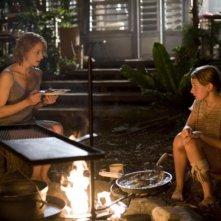 Abigail Breslin e Jodie Foster in una sequenza del film Alla ricerca dell'isola di Nim.