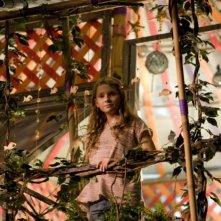 Abigail Breslin in una scena del film Alla ricerca dell'isola di Nim, di Jennifer Flackett e Mark Levin
