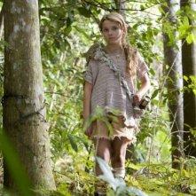 Abigail Breslin in una scena del film Alla ricerca dell'isola di Nim, diretto da Jennifer Flackett e Mark Levin
