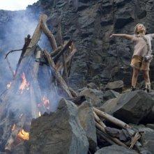 Abigail Breslin in una scena del film Alla ricerca dell'isola di Nim.