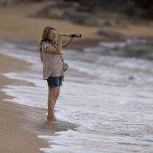Abigail Breslin in una sequenza del film Alla ricerca dell'isola di Nim, del 2008