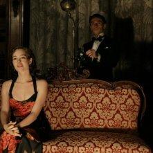 Cristiana Capotondi e Alessio Boni in 'Rebecca, la prima moglie'