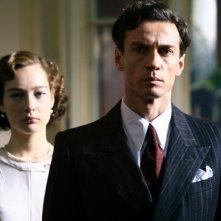 Cristiana Capotondi e Alessio Boni in una scena di 'Rebecca, la prima moglie'