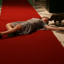 Cristiana Capotondi in una sequenza della fiction 'Rebecca, la prima moglie'