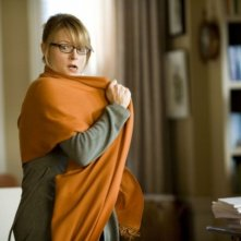 Jodie Foster in una scena del film Alla ricerca dell'isola di Nim.