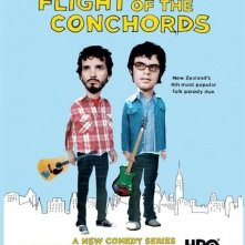 La locandina di The Flight of the Conchords