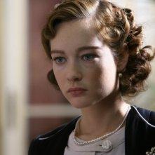 Un primo piano di Cristiana Capotondi nella fiction 'Rebecca, la prima moglie'