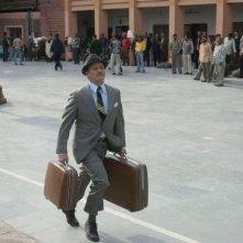 L'attore Bill Murray in una scena de Il treno per il Darjeeling