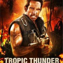 Character Poster per Ben Stiller in Tropic Thunder