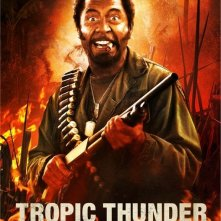 Character Poster per Robert Downey Jr. in Tropic Thunder