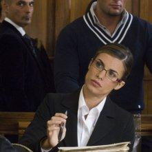 Elisabetta Canalis in una sequenza del film La seconda volta non si scorda mai