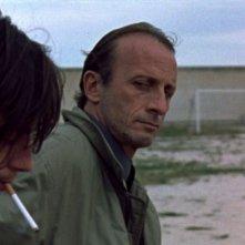 Francesco Origo e Nicola Adamo in una scena del film Jimmy della Collina