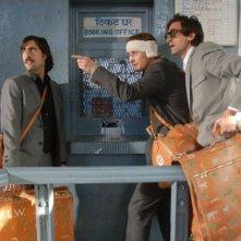 Jason Schwartzman, Owen Wilson e Adrien Brody sono i protagonisti de Il treno per il Darjeeling