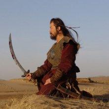 Tadanobu Asano in una scena del film Mongol