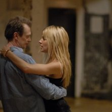 Steve Buscemi e Sienna Miller in una sequenza del film Interview