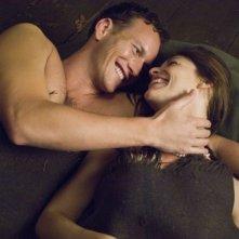Claire Danes e Brian Wilson in una sequenza del film Un amore senza tempo