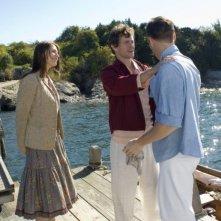 Claire Danes, Hugh Dancy e Brian Wilson in una sequenza del film Un amore senza tempo