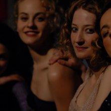 Cristina Odasso, Marina Rocco, Alba Rohrwacher e Francesca Cutolo sul set del film Riprendimi