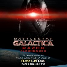 La locandina di Battlestar Galactica: Razor Flashbacks