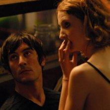 Marco Foschi e Alba Rohrwacher sul set del film Riprendimi