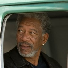 Morgan Freeman in una scena del film 10 cose di noi