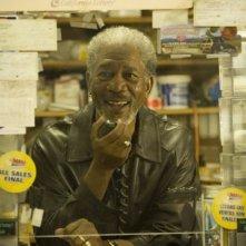 Morgan Freeman in una scena del film 10 cose di noi