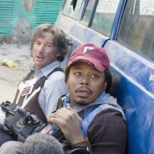Richard Gere e Terrence Howard in una sequenza di The Hunting Party