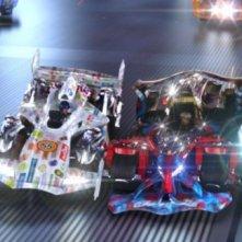 Una sequenza d'azione di Speed Racer