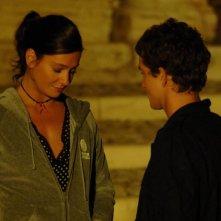 Alessandro Tiberi e Giovanna Mezzogiorno in una scena del film L'amore non basta