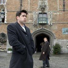 Colin Farrell e Brendan Gleeson in una scena del film In Bruges