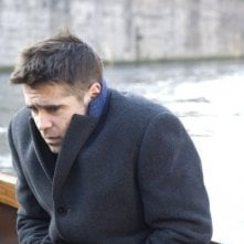 Colin Farrell in una scena del film In Bruges