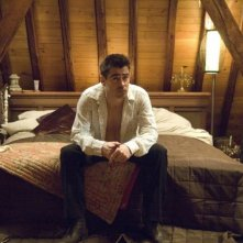 In Bruges: Colin Farrell in una scena del film