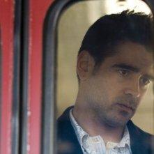 Colin Farrell in una foto promozionale del film In Bruges