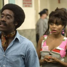 Don Cheadle e Taraji P. Henson in una scena del film Talk to me