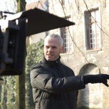 Il regista Martin McDonagh sul set del film In Bruges